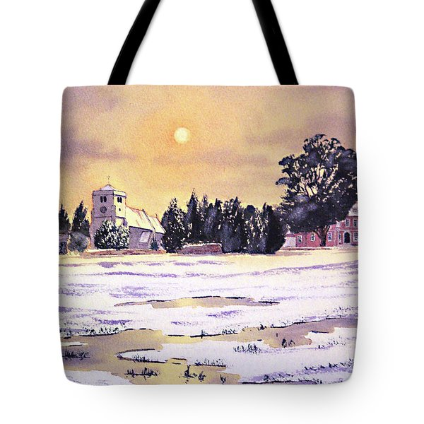 Sunrise Over St Botolph's Church Tote Bag by Bill Holkham