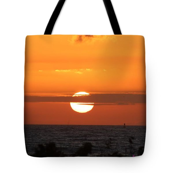 Sunrise Over The Atlantic Tote Bag