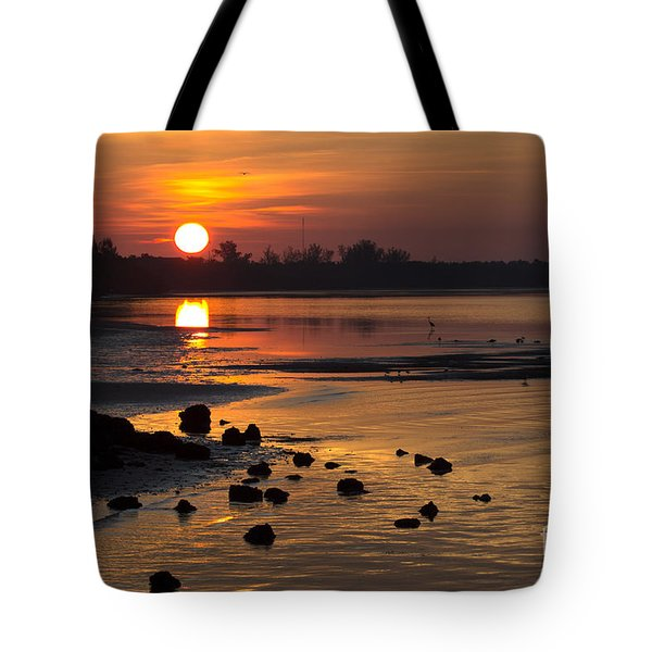 Tote Bag featuring the photograph Sunrise Photograph by Meg Rousher