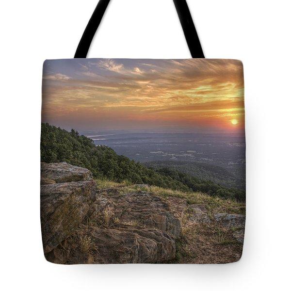 Sunrise Point From Mt. Nebo - Arkansas Tote Bag