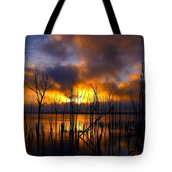 Tote Bag featuring the photograph Sunrise by Raymond Salani III