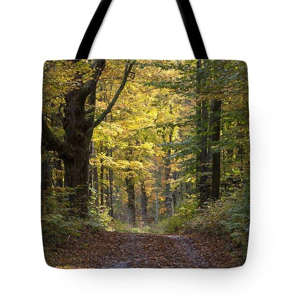 Sunrise Road Tote Bag
