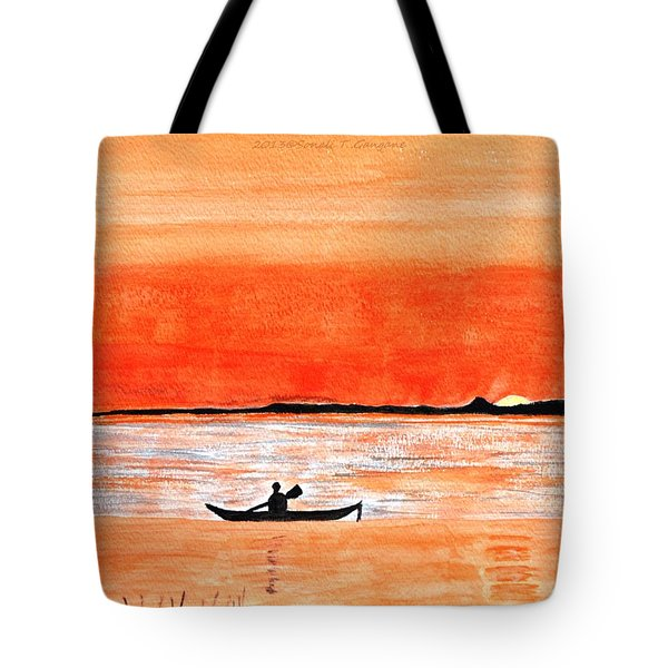 Sunrise Sail Tote Bag