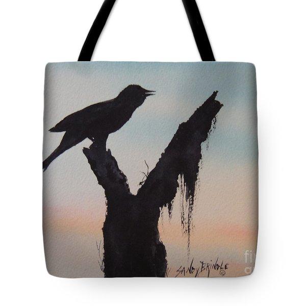 Sunrise Singer Tote Bag