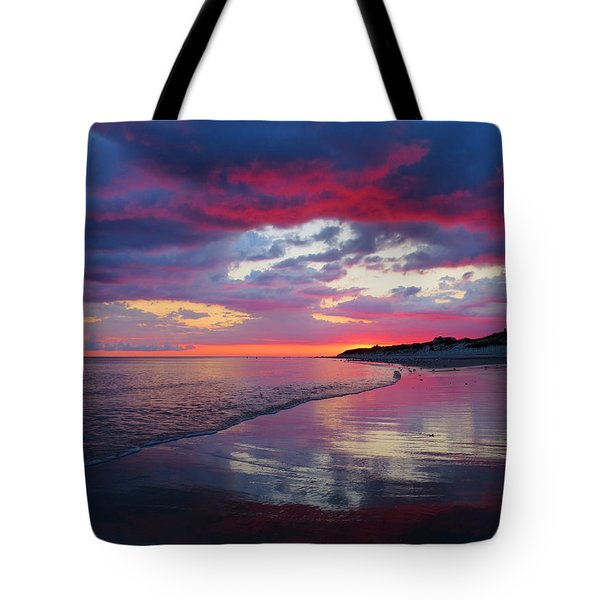 Tote Bag featuring the photograph Sunrise Sizzle by Dianne Cowen