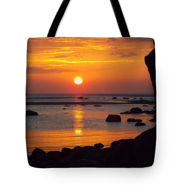 Sunrise Therapy Tote Bag by Dianne Cowen