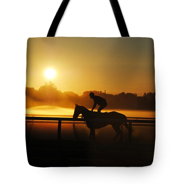 Sunrise Workout Tote Bag