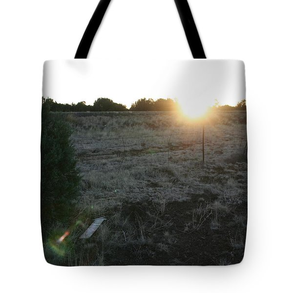 Tote Bag featuring the photograph Sunrize by David S Reynolds