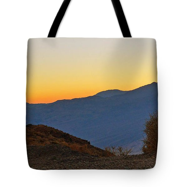 Tote Bag featuring the photograph Sunset - Death Valley by Dana Sohr