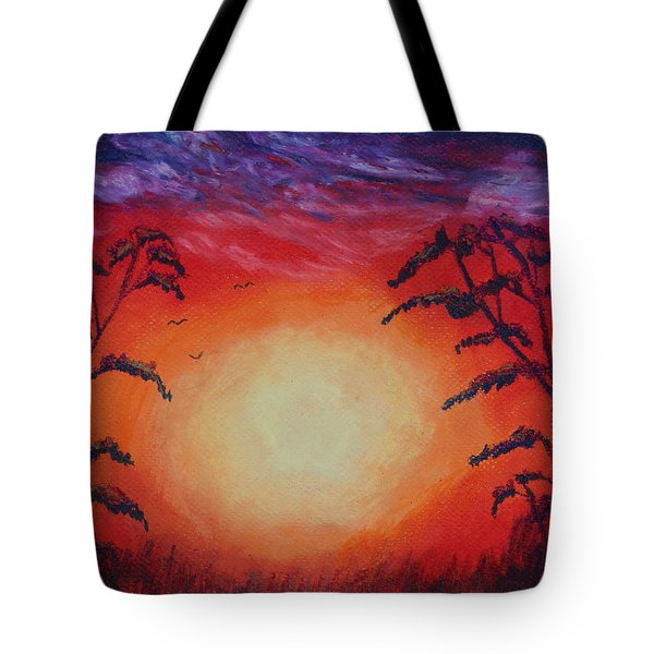 Sunset 1 Tote Bag by Jeanne Fischer
