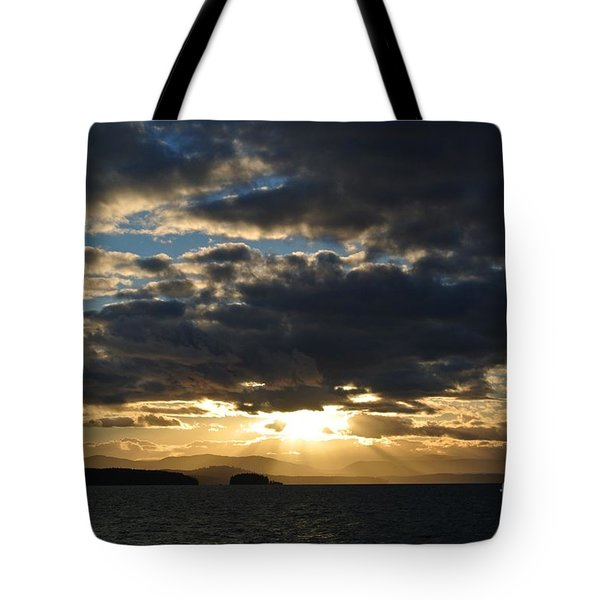 Sunset 2 - Thieves Bay Tote Bag