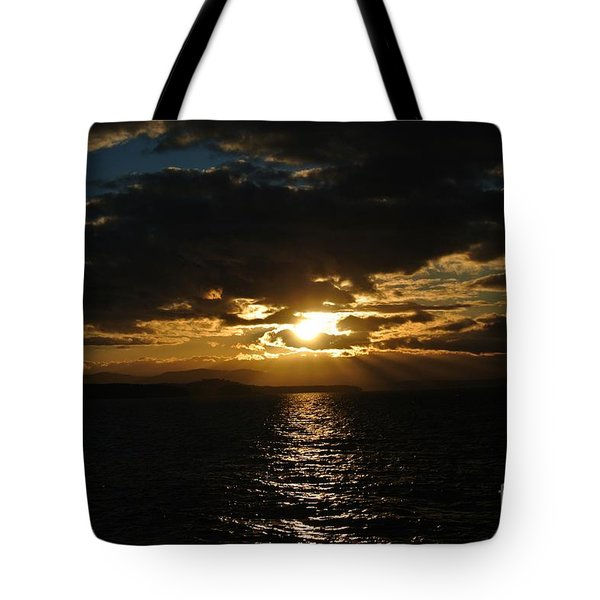 Sunset 3 - Thieves Bay Tote Bag