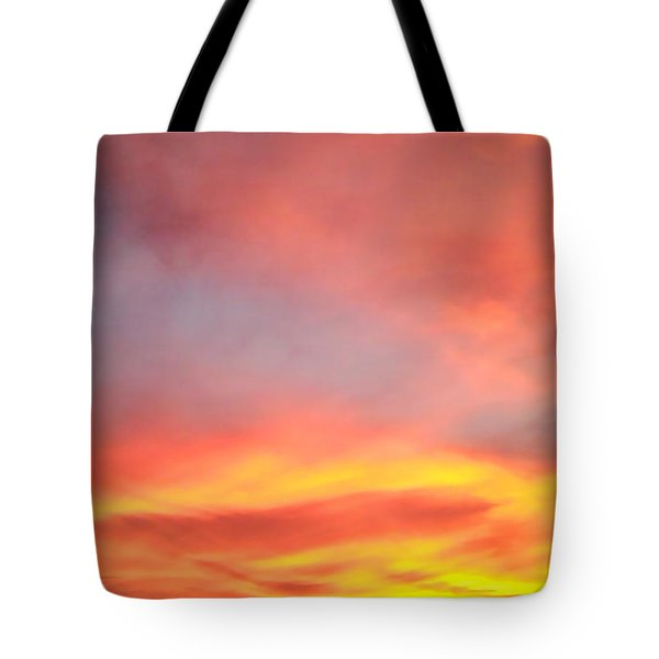 Tote Bag featuring the photograph Sunset 4 by Ze  Di