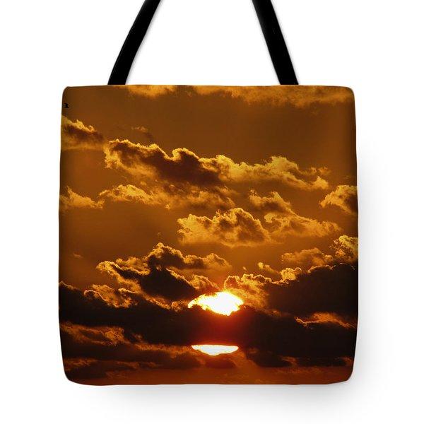 Sunset 5 Tote Bag by Bob Slitzan