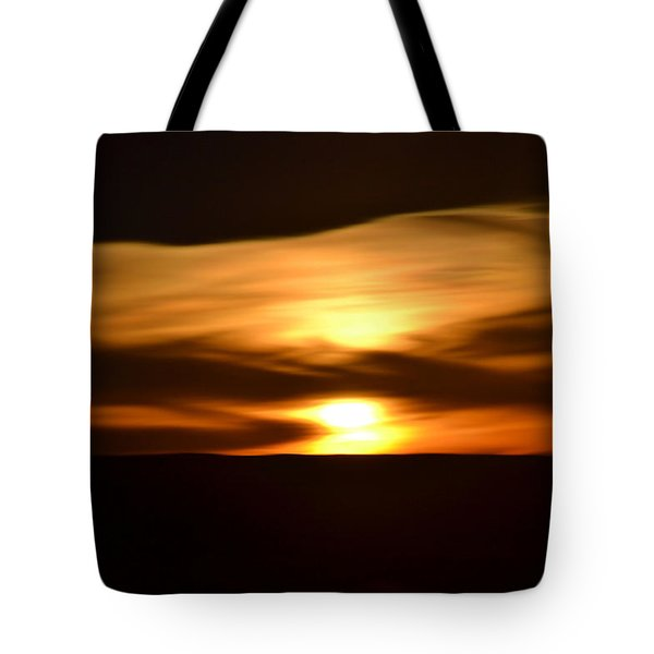 Tote Bag featuring the photograph Sunset Abstract I by Nadalyn Larsen