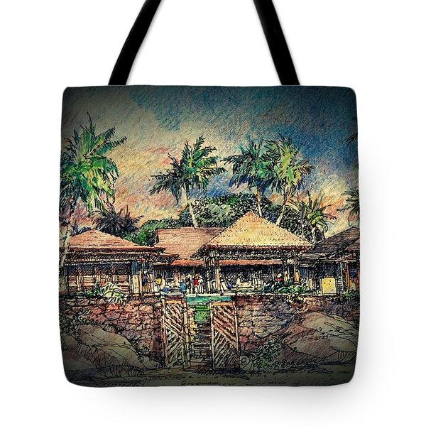 Sunset Tote Bag by Andrew Drozdowicz