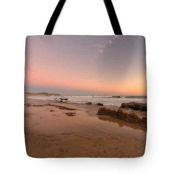Sunset At Crystal Cove Hdr Tote Bag by Angela A Stanton