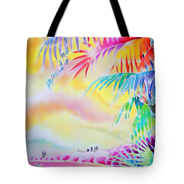Sunset At Kuto Beach Tote Bag