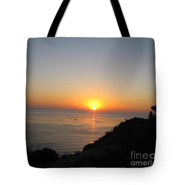 Sunset At Laguna Niguel California Tote Bag