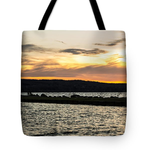 Sunset At Myers Tote Bag