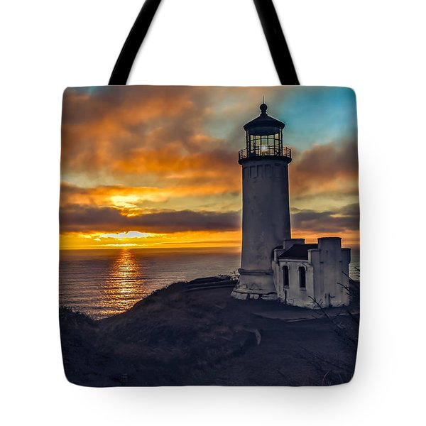 Sunset At North Head Tote Bag
