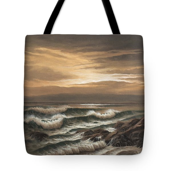 Sunset At Pacific Grove Tote Bag