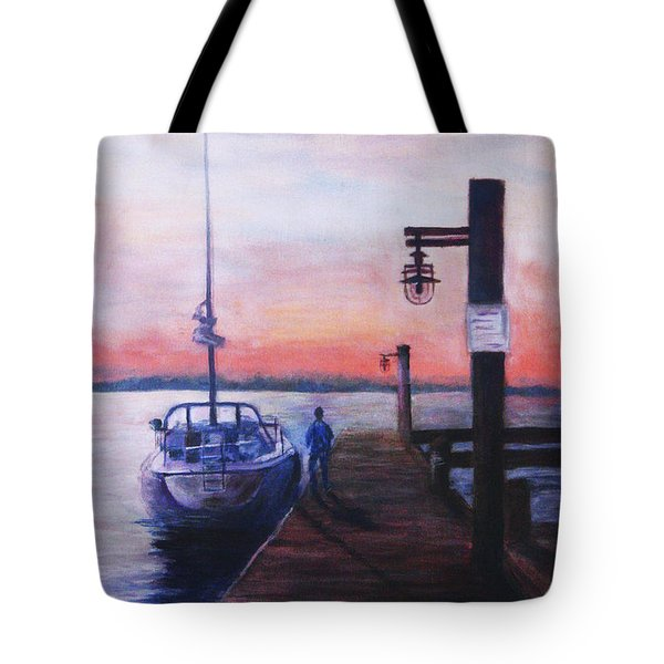 Sunset At Rocky Point Tote Bag