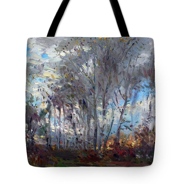 Sunset At Royal Park Tote Bag