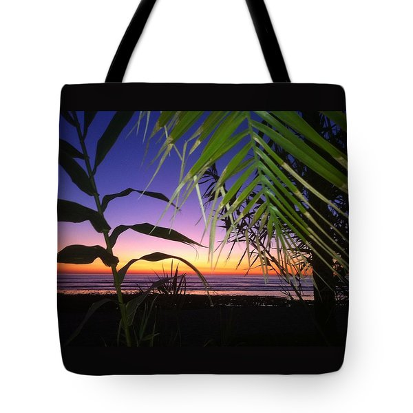 Sunset At Sano Onofre Tote Bag