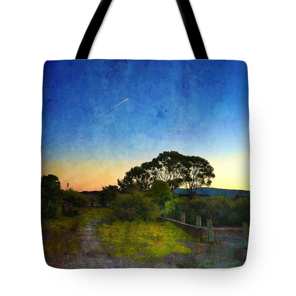 Sunset At The Baylands Tote Bag