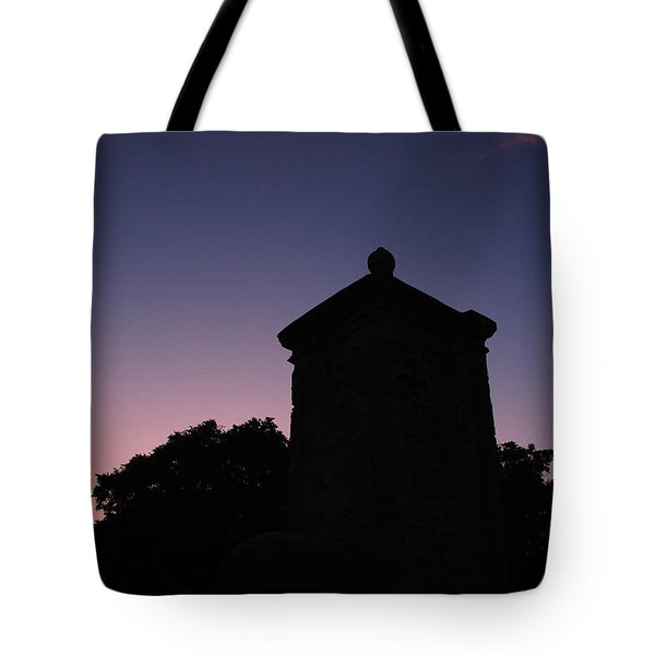 Sunset At The Gate Tote Bag