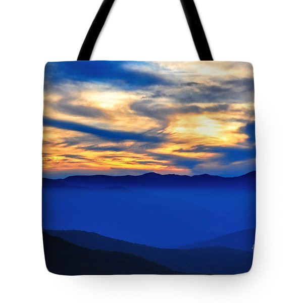 Sunset At The Max Tote Bag