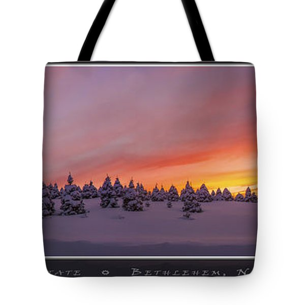Sunset At The Rocks Tote Bag