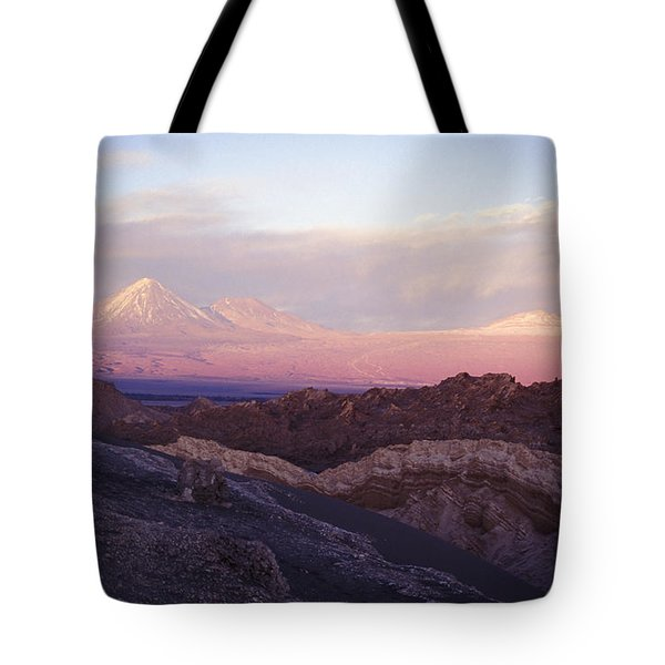 Sunset At The Valley Of The Moon Tote Bag by Lana Enderle