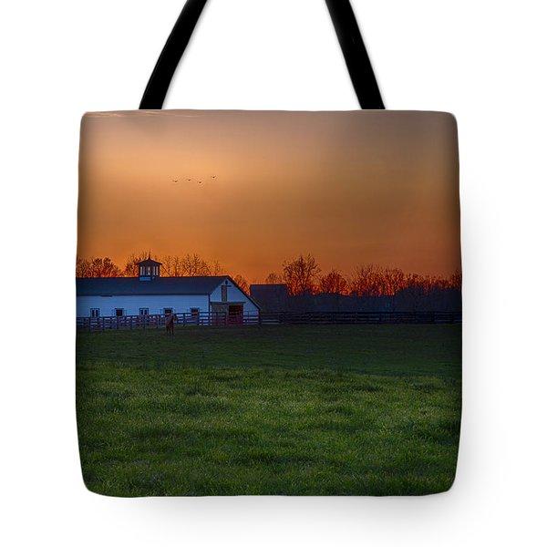 Walmac Farm Ky  Tote Bag