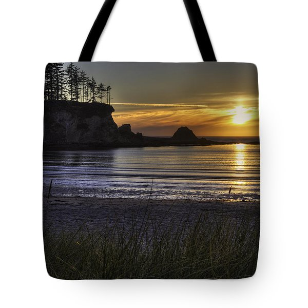Sunset Bay Paradise Tote Bag