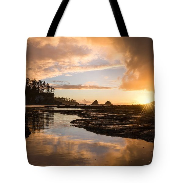 Sunset Bay Reflections Tote Bag