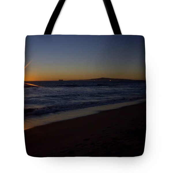 Sunset Beach Tote Bag by Heidi Smith