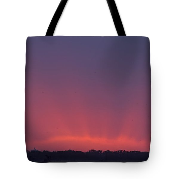 Sunset Beams Tote Bag