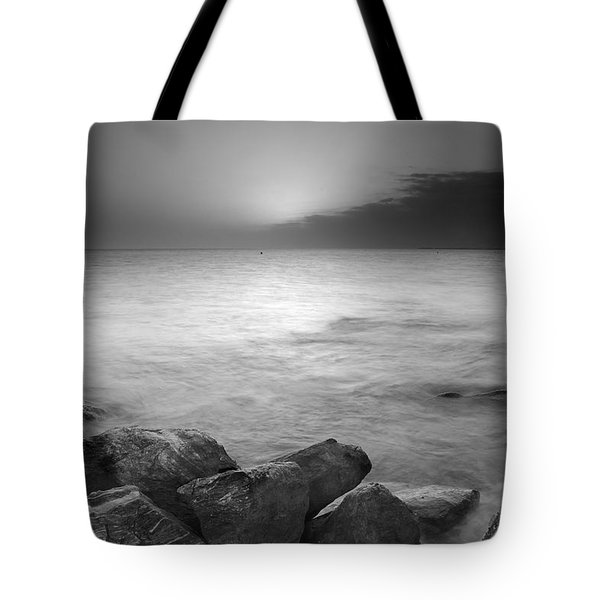 Sunset Before The Storm Tote Bag by Guido Montanes Castillo