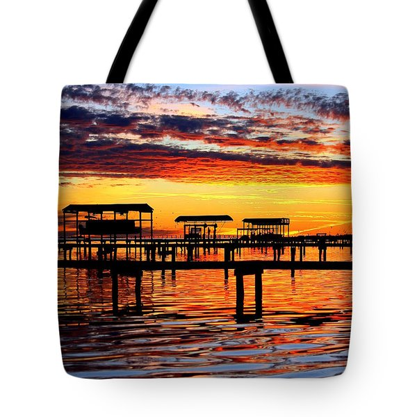 Sunset Breeze Tote Bag
