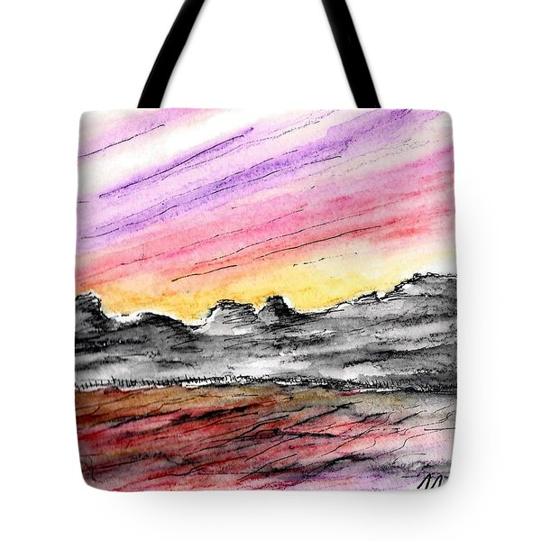 Sunset Canyon Tote Bag