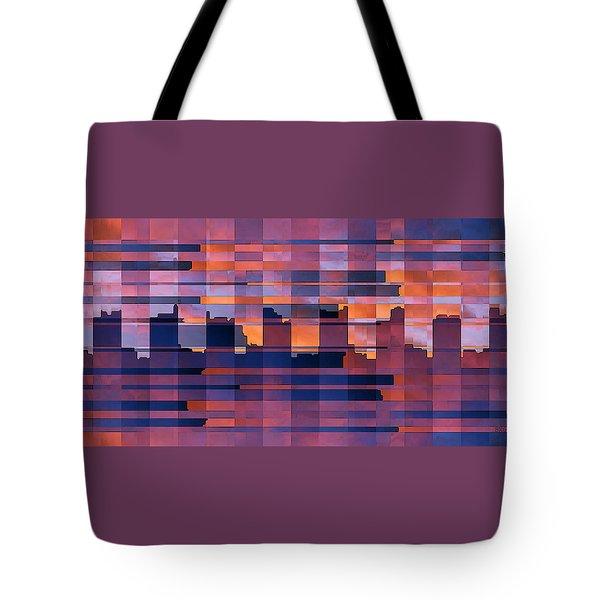 Sunset City Tote Bag by Ben and Raisa Gertsberg