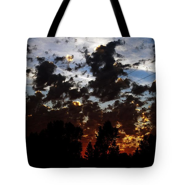 Sunset Clouds Tote Bag