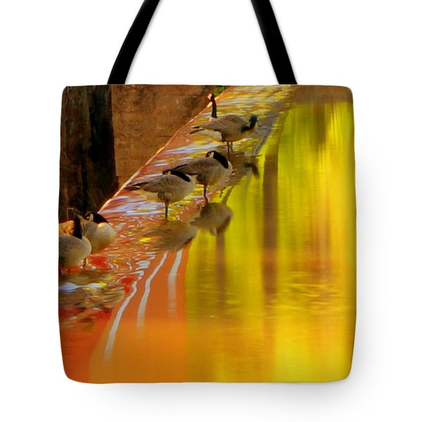Sunset Club Tote Bag