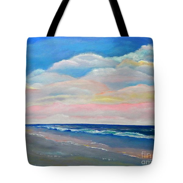 Sunset Colors Tote Bag by Shelia Kempf