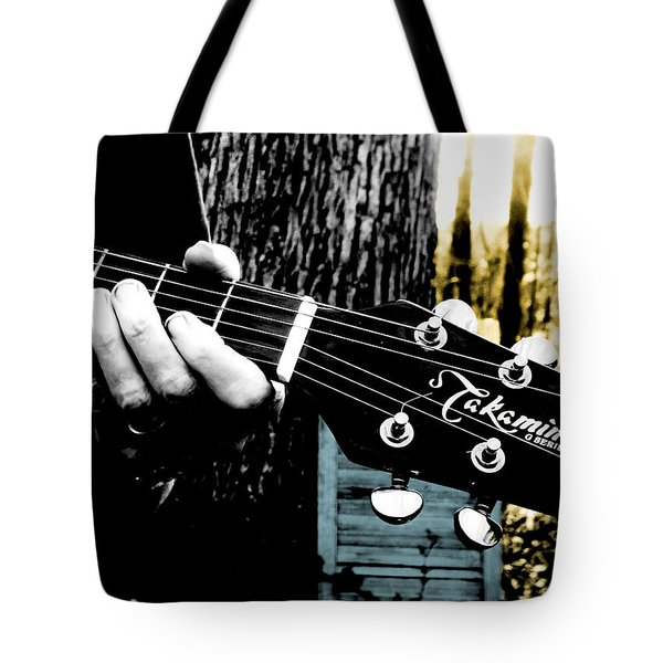 Sunset Country Pickin Tote Bag by Kristie  Bonnewell