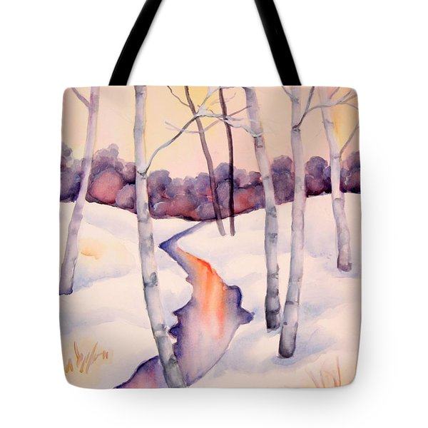 Sunset Creek Tote Bag