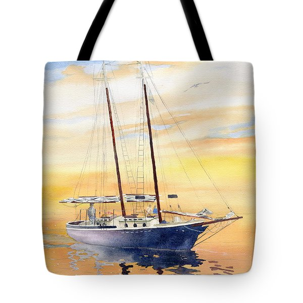 Sunset Cruise Tote Bag by Melly Terpening