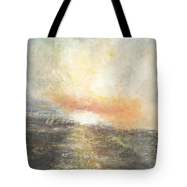 Sunset Drama Tote Bag